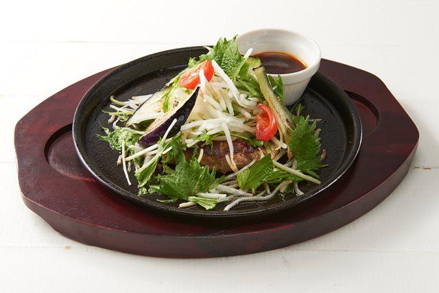 【期間限定 20%OFF】シャキシャキ大根と香味野菜の生姜醤油ハンバーグ