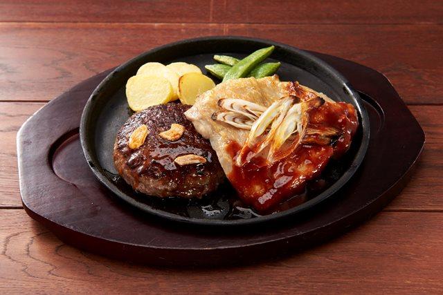 【期間限定 20%OFF】All Beef ハンバーグ&グリルチキン~選べるソース