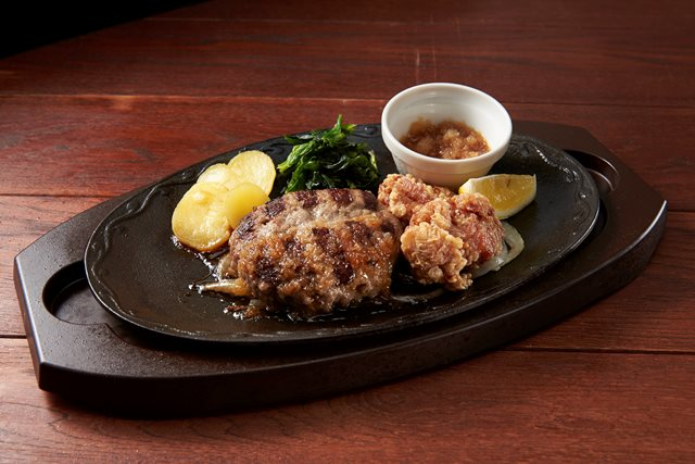 【期間限定 20%OFF】ハンバーグ&鶏の唐揚げ~選べるソース