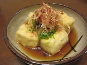 奇跡の揚げ出し豆腐