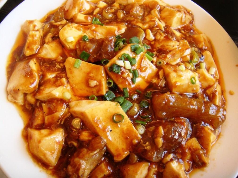 牛すじ麻婆豆腐