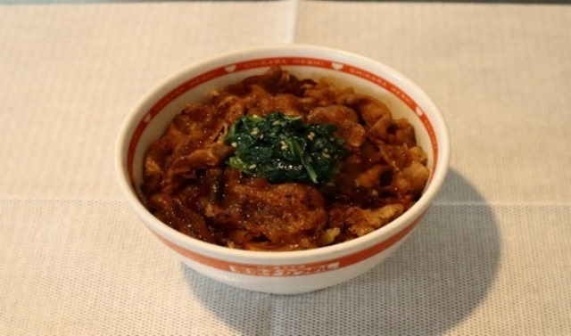 焼き牛丼(醤油)