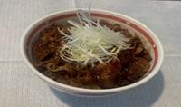 焼き牛丼(味噌)