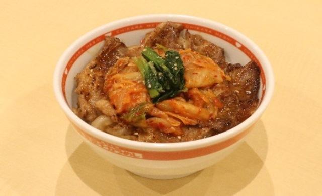 キムチ焼き牛丼(醤油)
