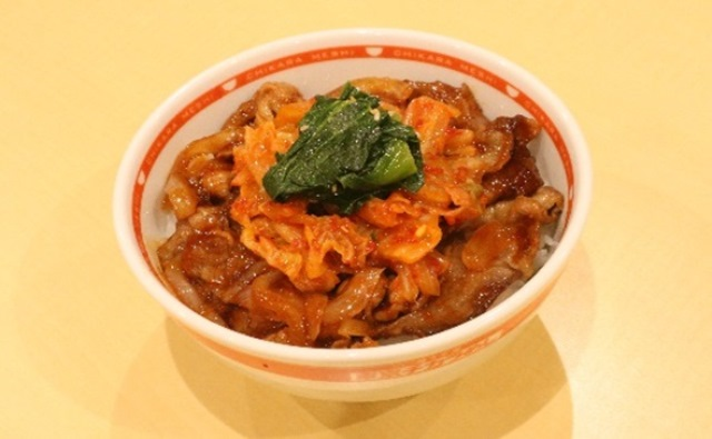 キムチ焼き牛丼(味噌)