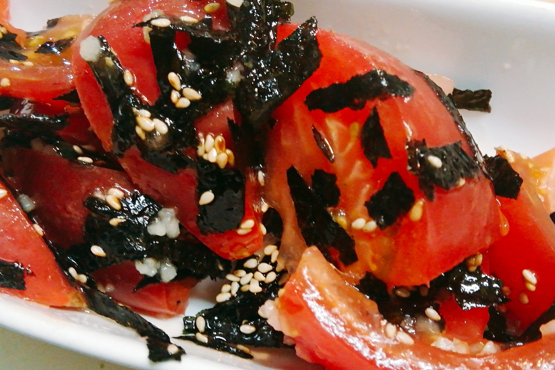 トマトと海苔のナムル