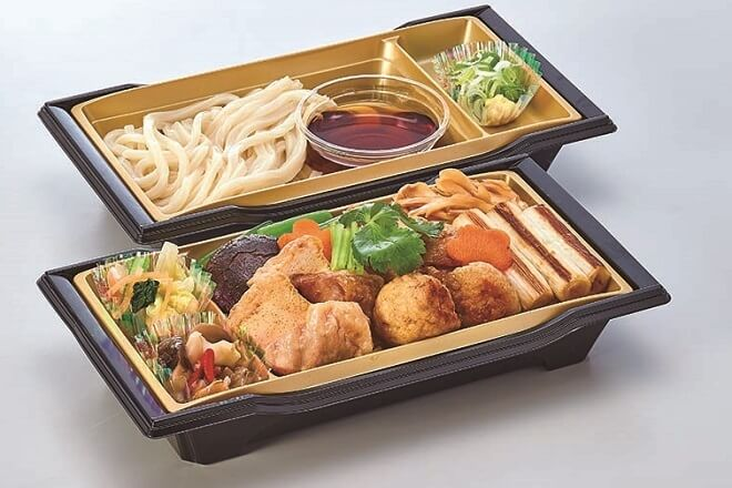 名古屋コーチンてりやき重と麺セット