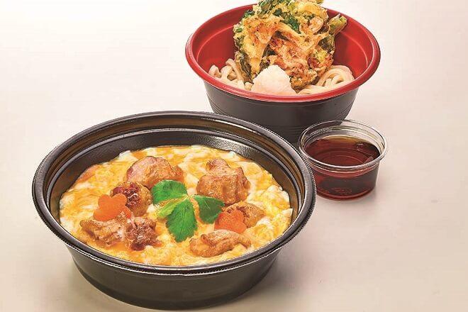 名古屋コーチン丼と季節のミニうどん