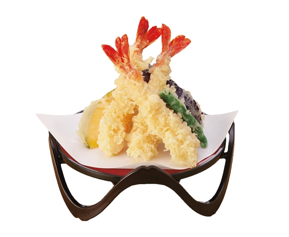 海老天ぷら盛り合わせ