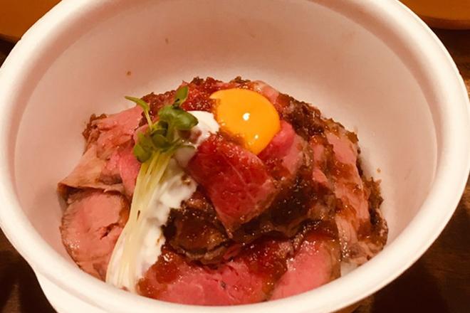 ロースビーフ丼