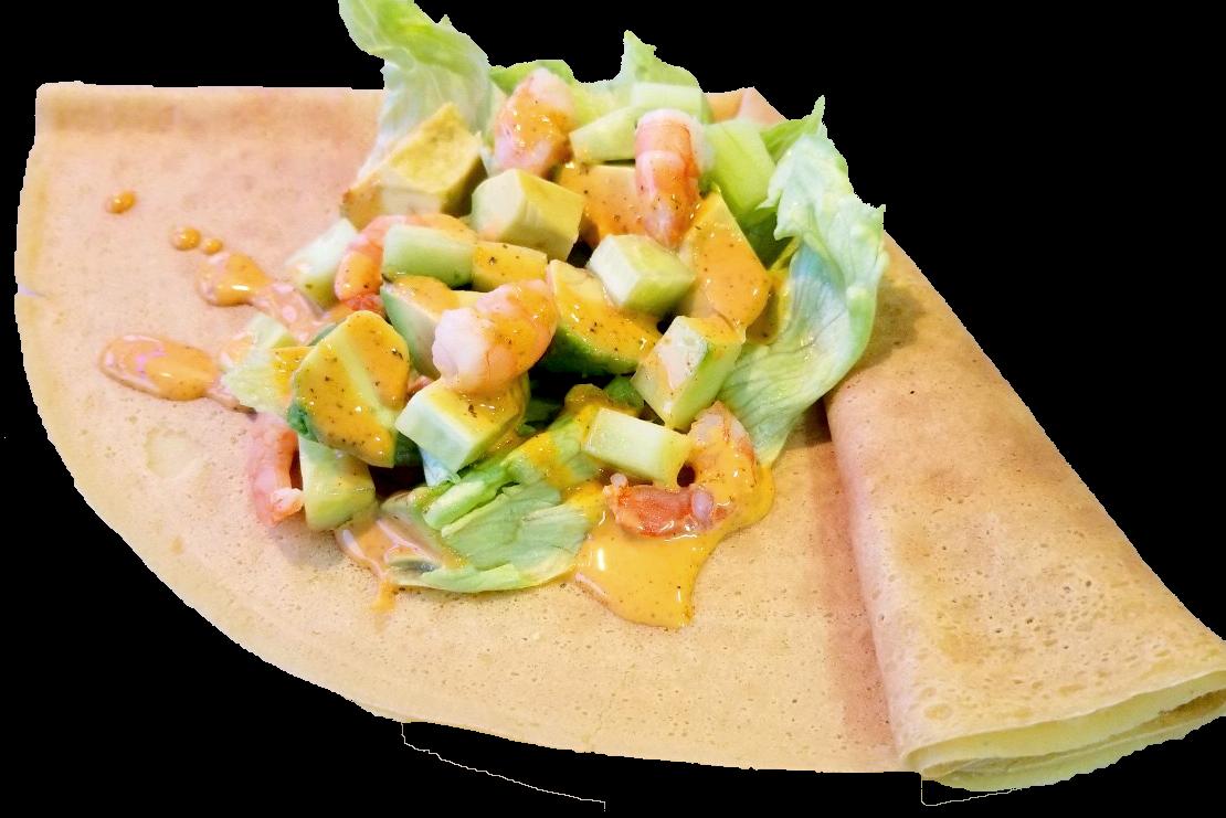 えびアボカドコブサラダ