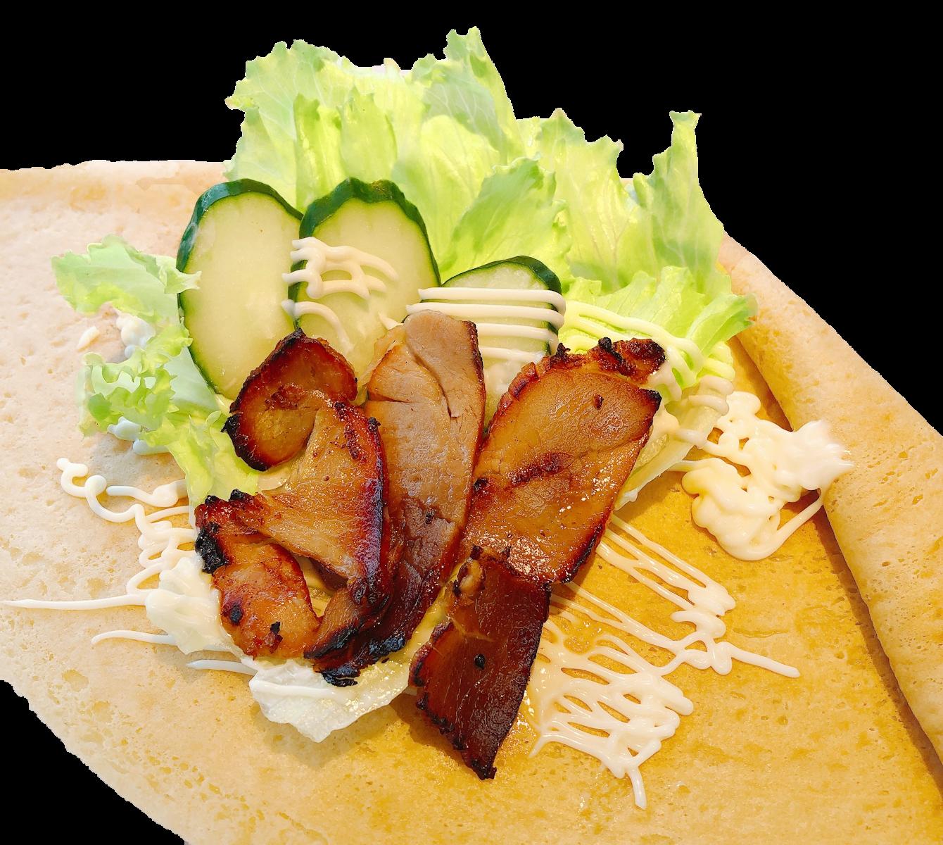 自家製焼豚サラダ