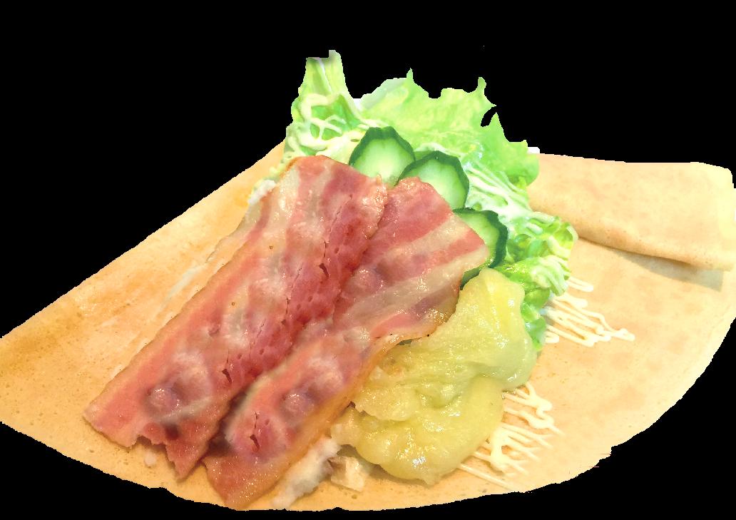 ベーコンサラダチーズ