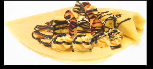 いちごバナナチョコカスタード