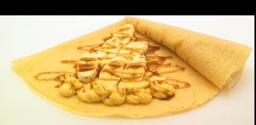 バナナキャラメルカスタード