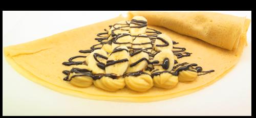 バナナチョコカスタード