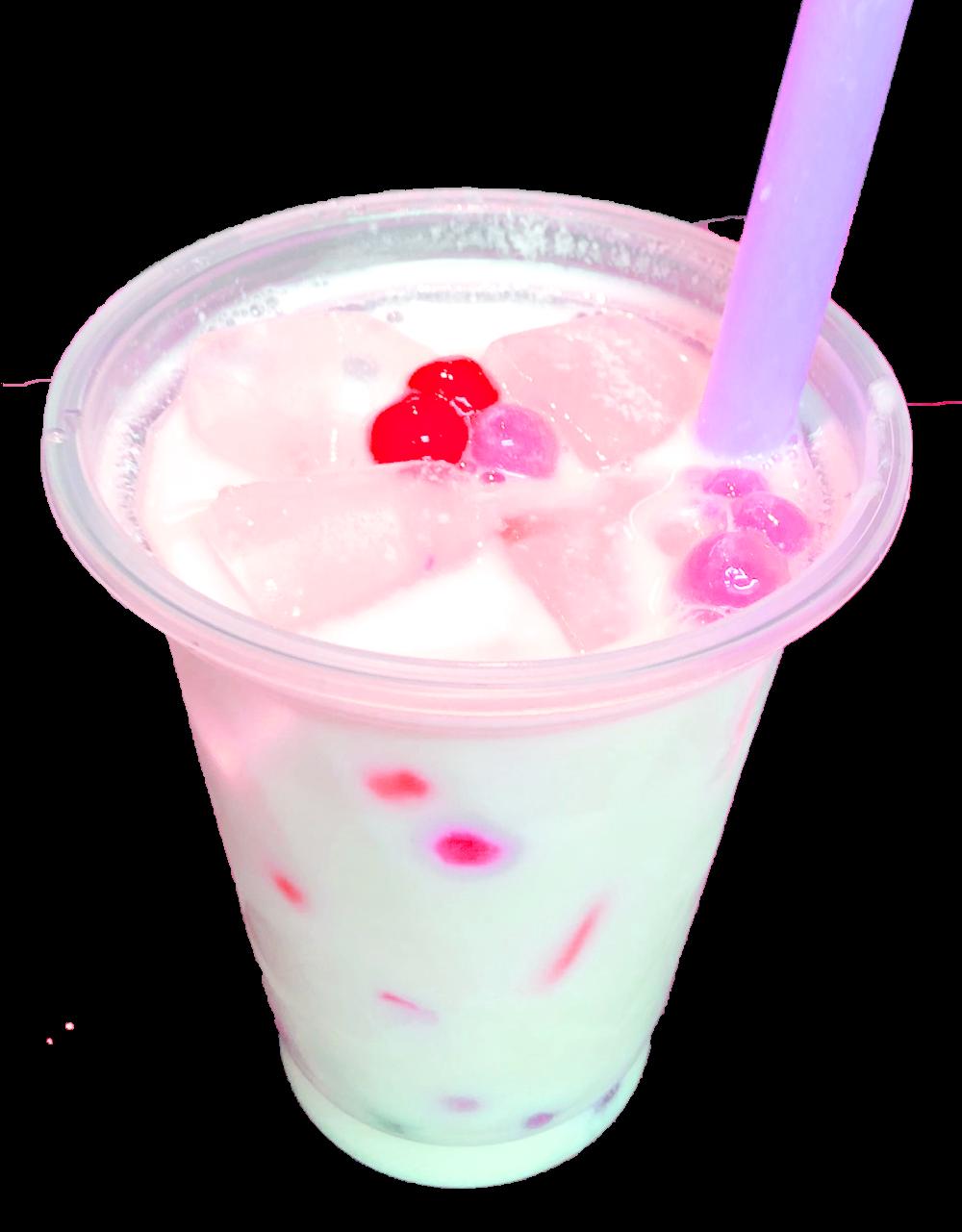 タピオカストロベリーミルクL