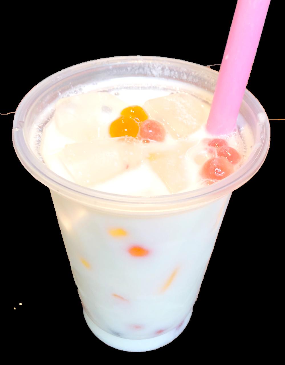 タピオカピーチミルクL