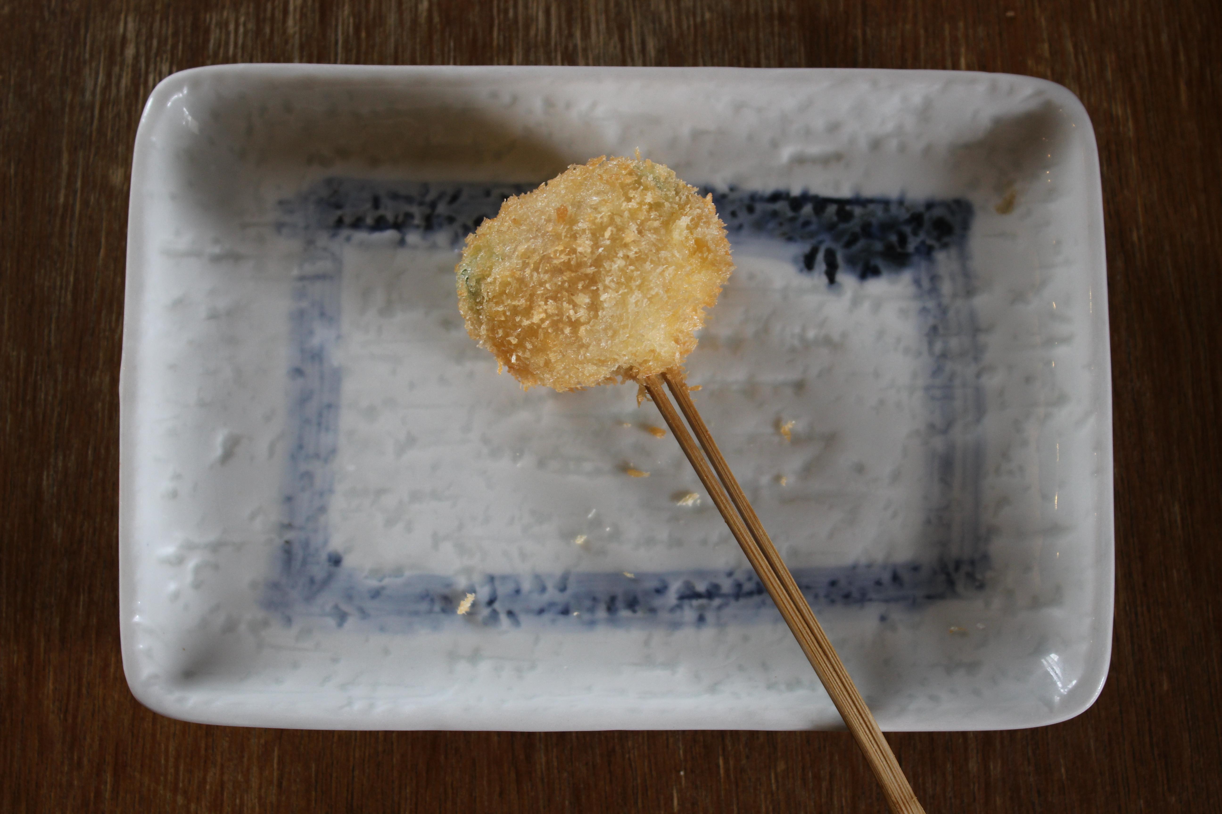 アスパラチェダーチーズベーコン巻き