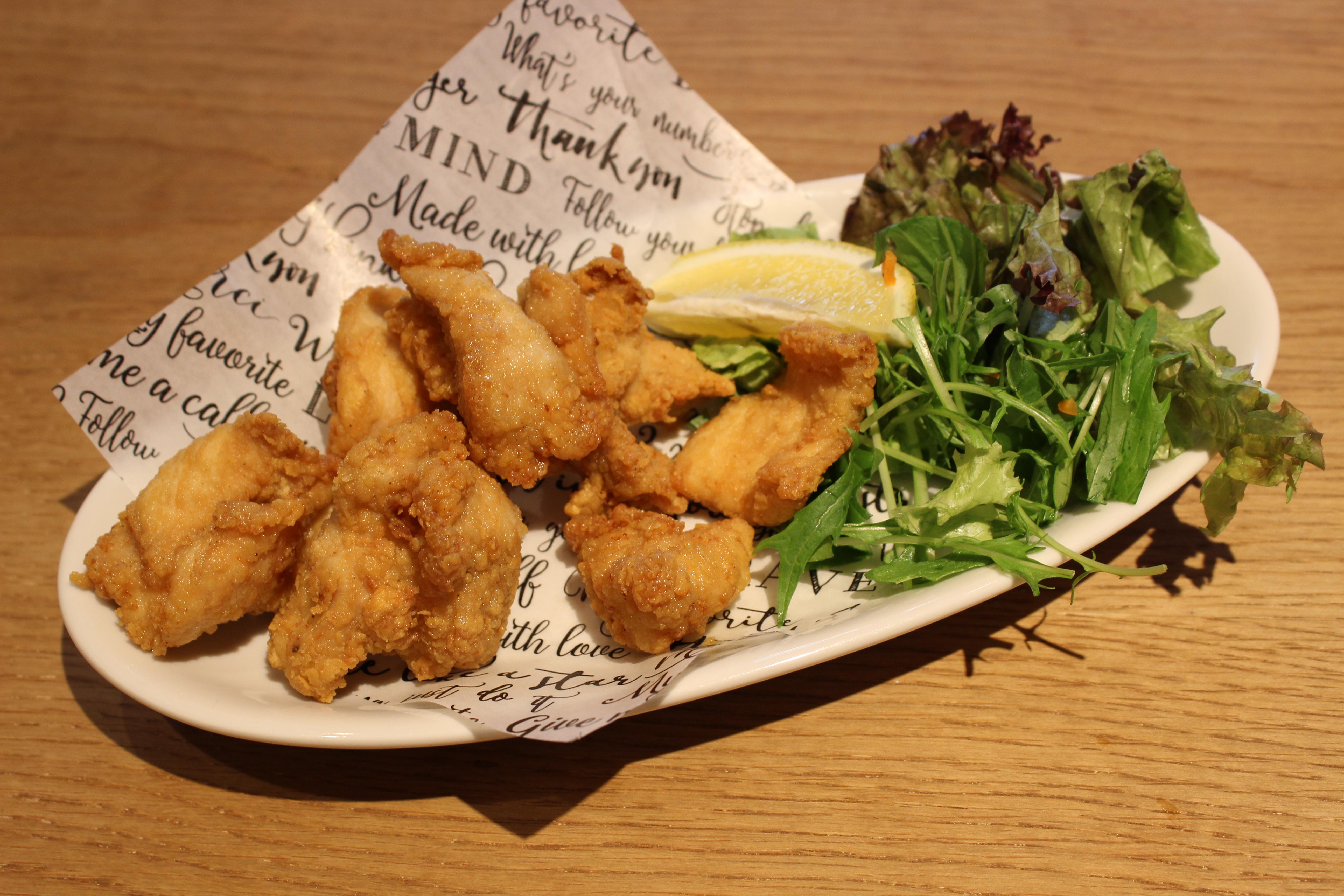 桜島鶏の鶏唐揚げ