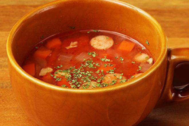 12品目のトマトスープ