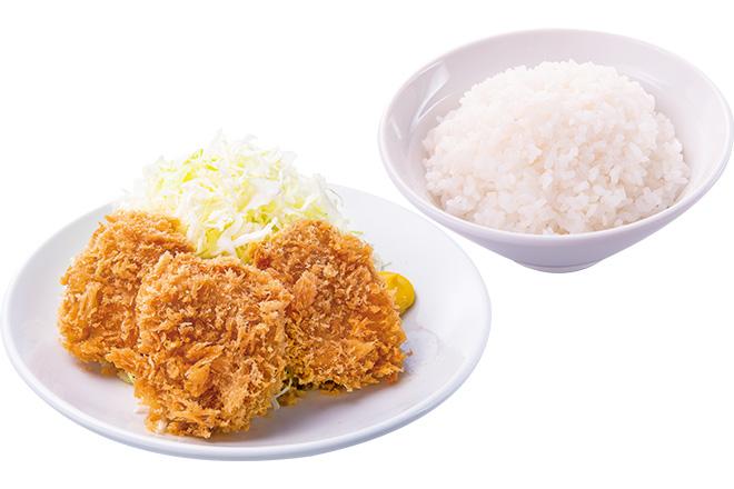 ヒレかつ+ご飯大盛
