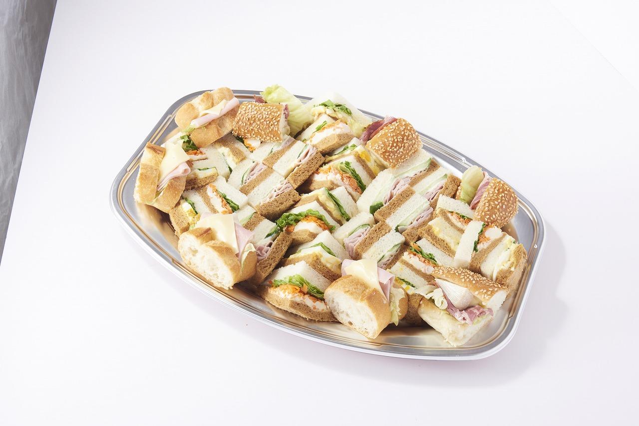 [受取日の4日前まで受付](アンデルセン)サンドイッチプレート