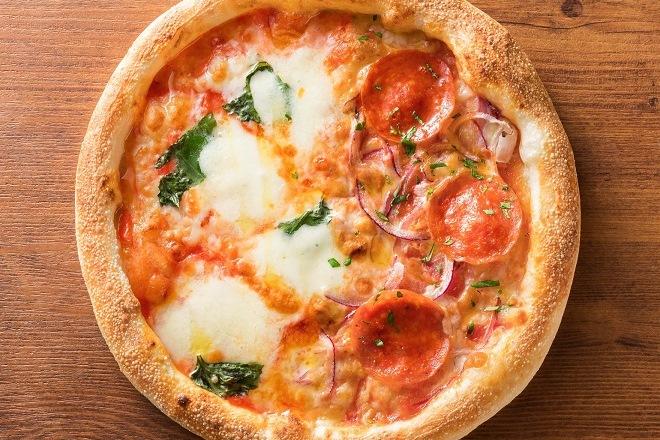 マルゲリータ&イタリアンサラミ