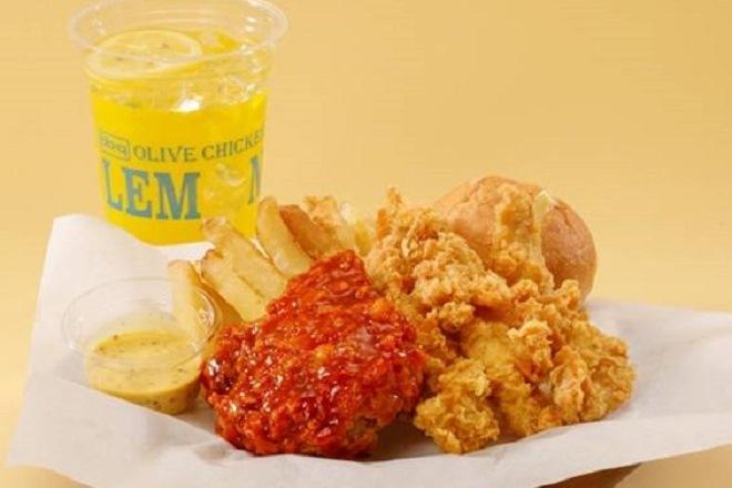 ヤンニョムチキンコンボ(ドリンク付き) Yangnyeom Chicken Combo