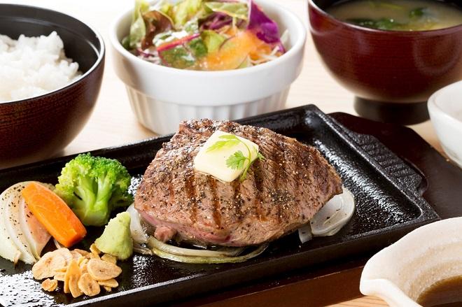 牛ロースステーキ弁当