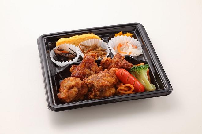 鶏モモのジューシー唐揚げのお弁当