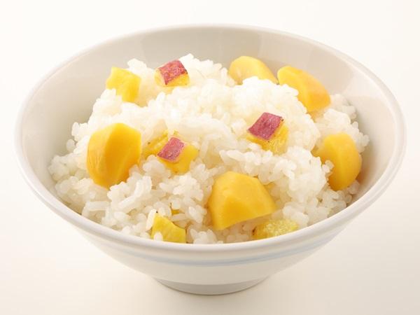 【秋季限定】栗とさつま芋の炊き込みごはん