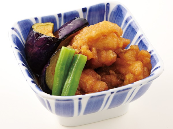 【秋季限定】鶏と茄子の旨煮