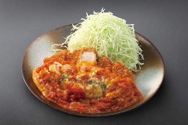 【今だけ100円引き】チーズトマト厚切りロースかつ定食