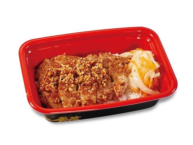 ポークステーキ丼(香味醤油)
