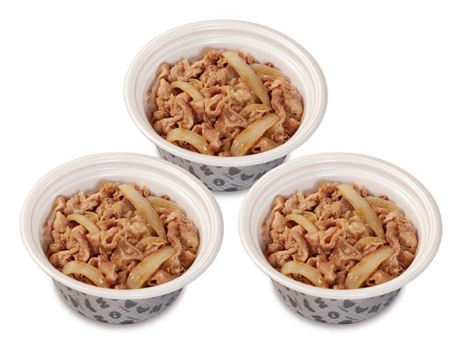 牛めし弁当ファミリーセット(プレミアム牛めし並3個)