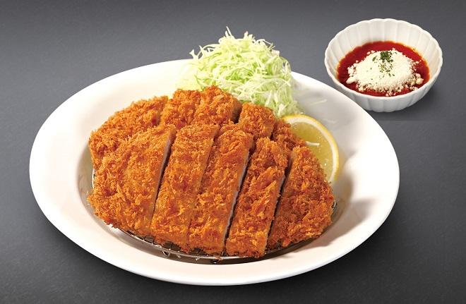 【店舗限定】ダブルチーズトマトロースかつ定食