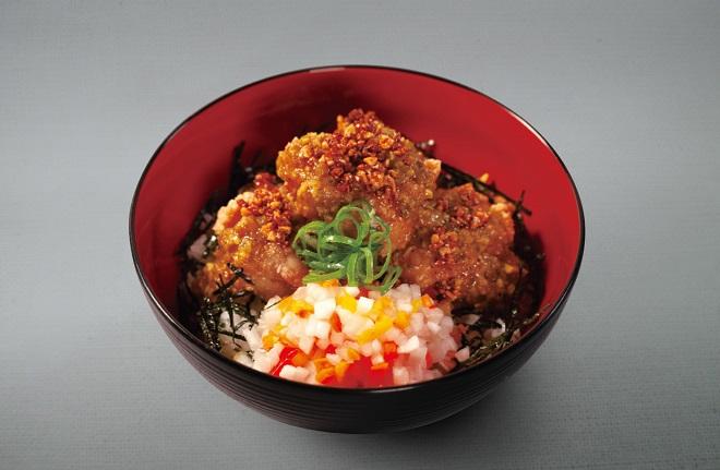 唐揚げ丼(魅惑の濃厚カレー)