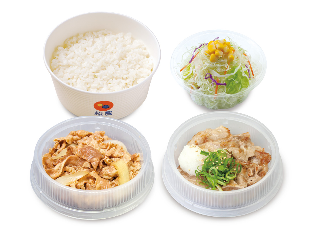 牛皿+牛焼肉生野菜セット