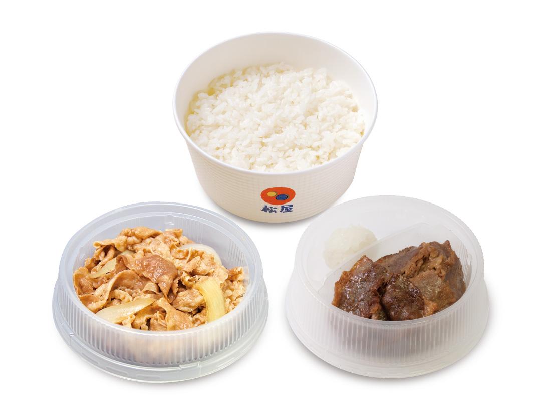 牛皿+カルビ焼肉セット