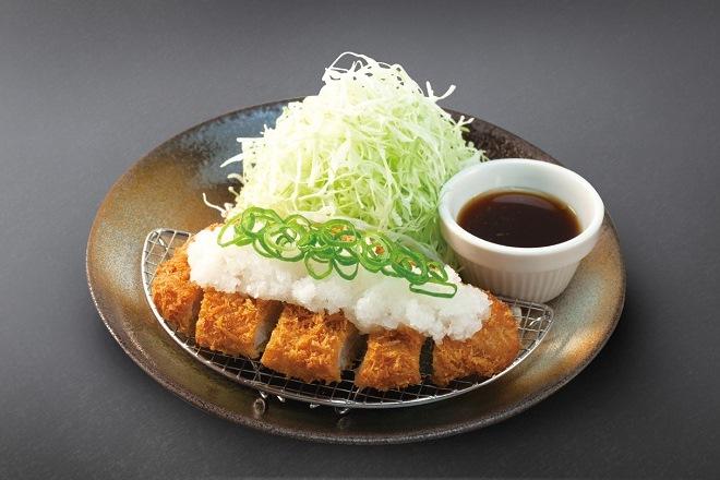 おろしポン酢厚切りロースかつ定食
