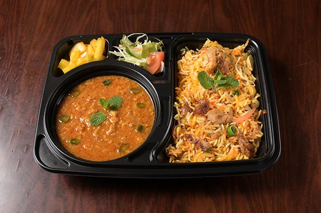 ビリヤニカレーセット(biryani Curry Set)