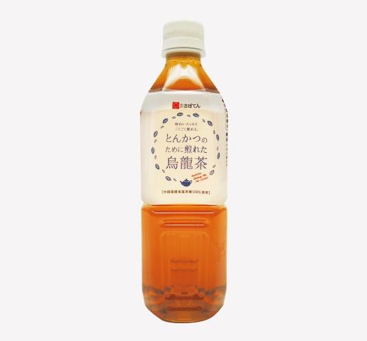 とんかつのために煎れた烏龍茶(500ml)