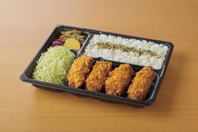 カキフライ(4ヶ)弁当
