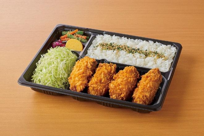 【期間限定】カキフライ(4ヶ)弁当