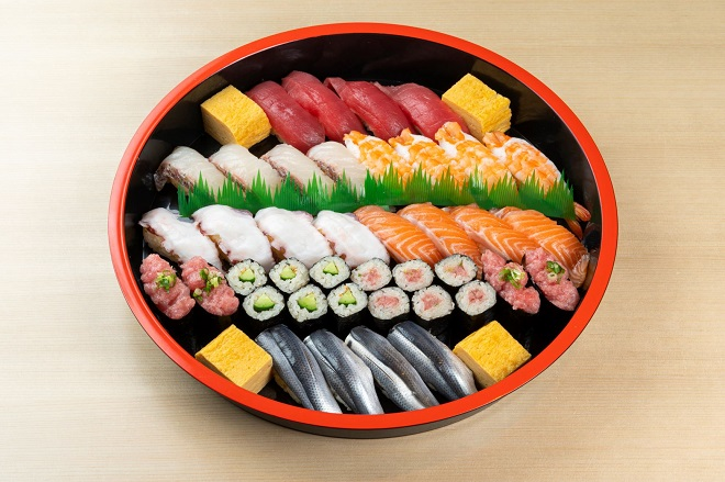 日替わり寿司 四人前