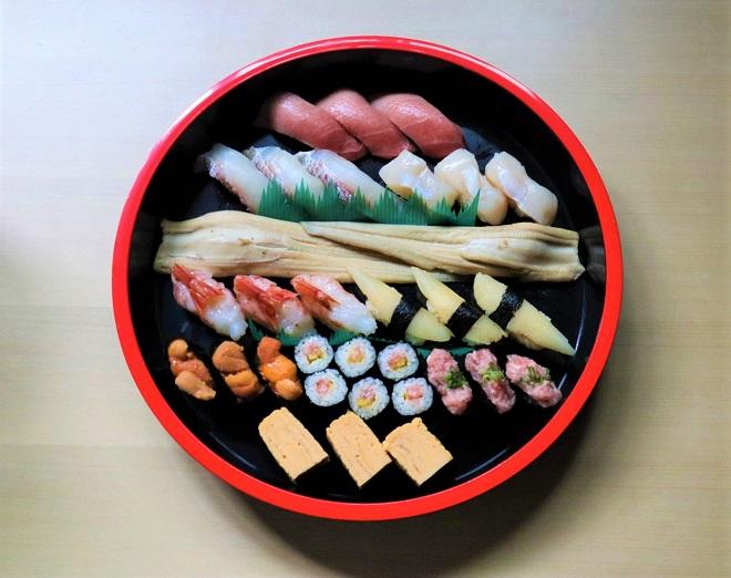 【おもてなし用】特選寿司 三人前