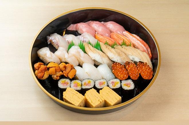 【上級おもてなしには】極上寿司 三人前