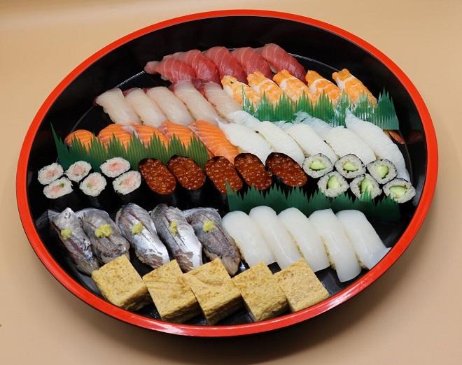 上寿司 五人前