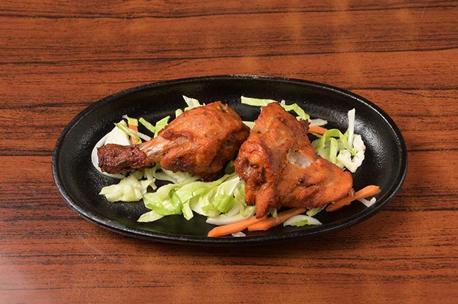 タンドリーチキン2個(Tandoori Chicken 2P)